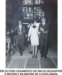 cASAMENTO EM cLEVELÂNDIA EM 1968