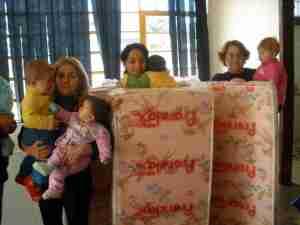 doação colchões para crheche