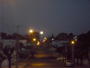 foto da Lua em Clevelândia