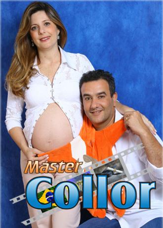 Mamãe Giovana e o futuro papai Rodrigo