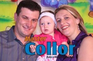 Completou seu primeiro aninho no dia 10/03/09 Gabriela Dugloss Santos e Silva Filha de Rozeliane e Paulo parabéns!!