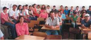 Pais concentrados na reunião que aconteceu no dia 03 de março