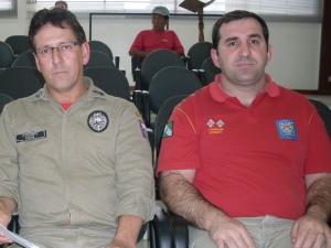 Sargento Farias e Tenente Donatti