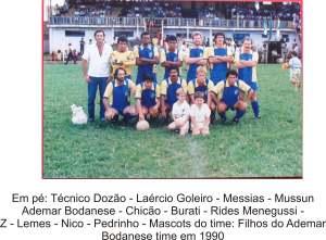 Time de futebol 1990 2