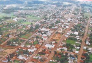 vista aerea de clevelandia em 1981