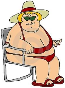 mulher-gorda-em-um-biquini-vermelho-thumb6258368