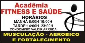 ACADEMIA FITNESS E SAÚDE