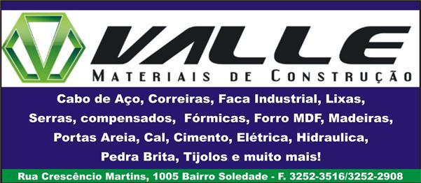 VALE MATERIAIS DE CONSTRUÇÃO CLEVELANDIA