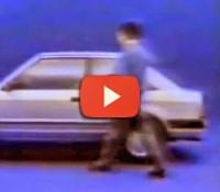 Propaganda do Ford Escort em 1983. Grande máquina dos anos 80.