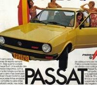 Propaganda do Passat Surf, da Volkswagen: foco nos jovens.