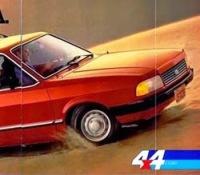 Propaganda da Ford Belina em 1984.